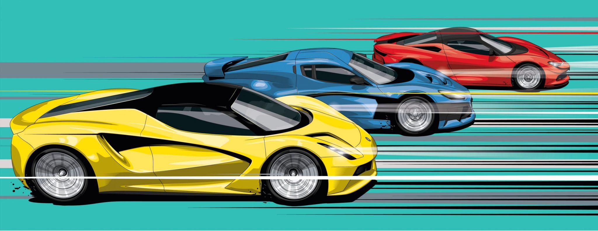 Elektrische hypercars 2020