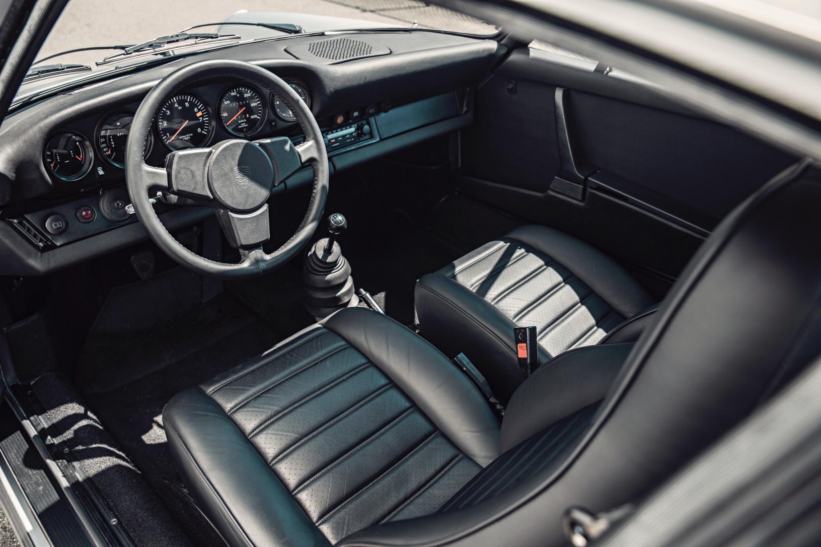 Interieur Porsche 911 Turbo 1975