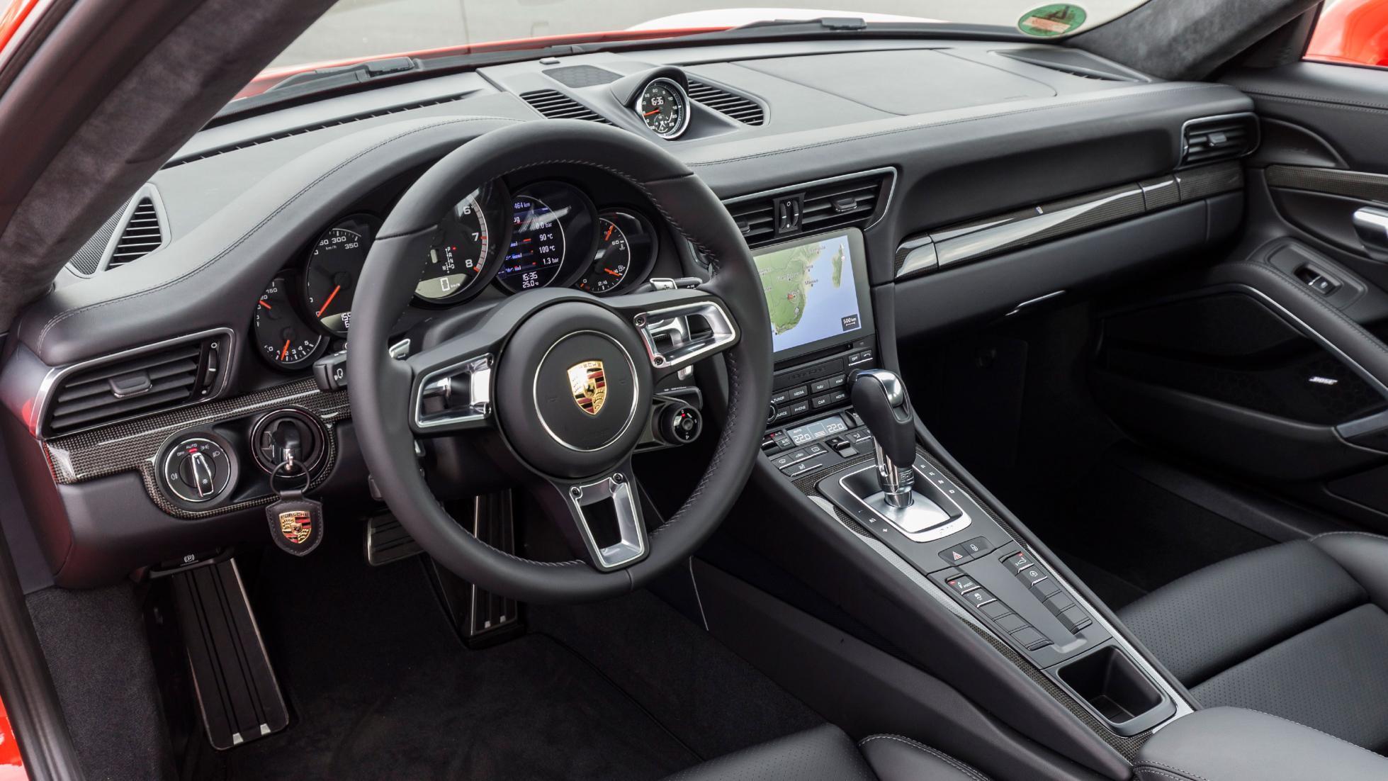Interieur Porsche 911 Turbo 991 2013