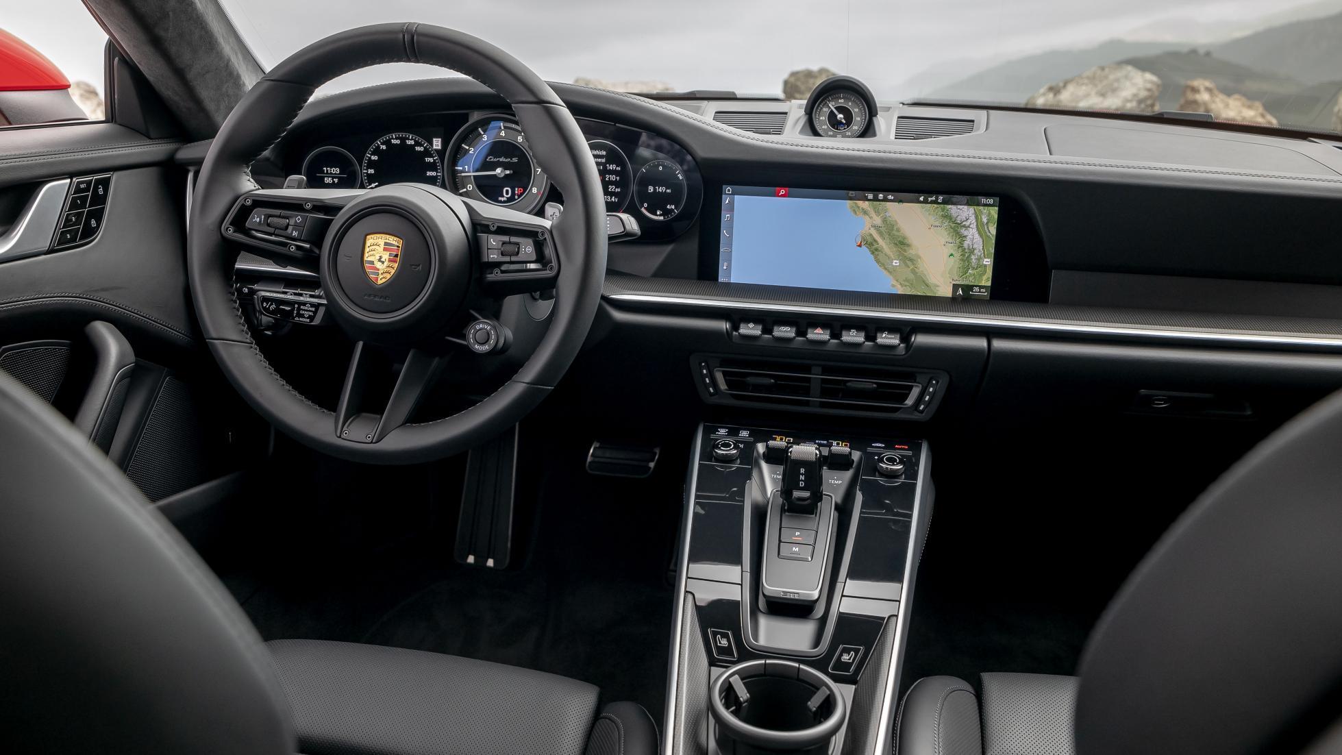 Interieur Porsche 911 Turbo 992 2020