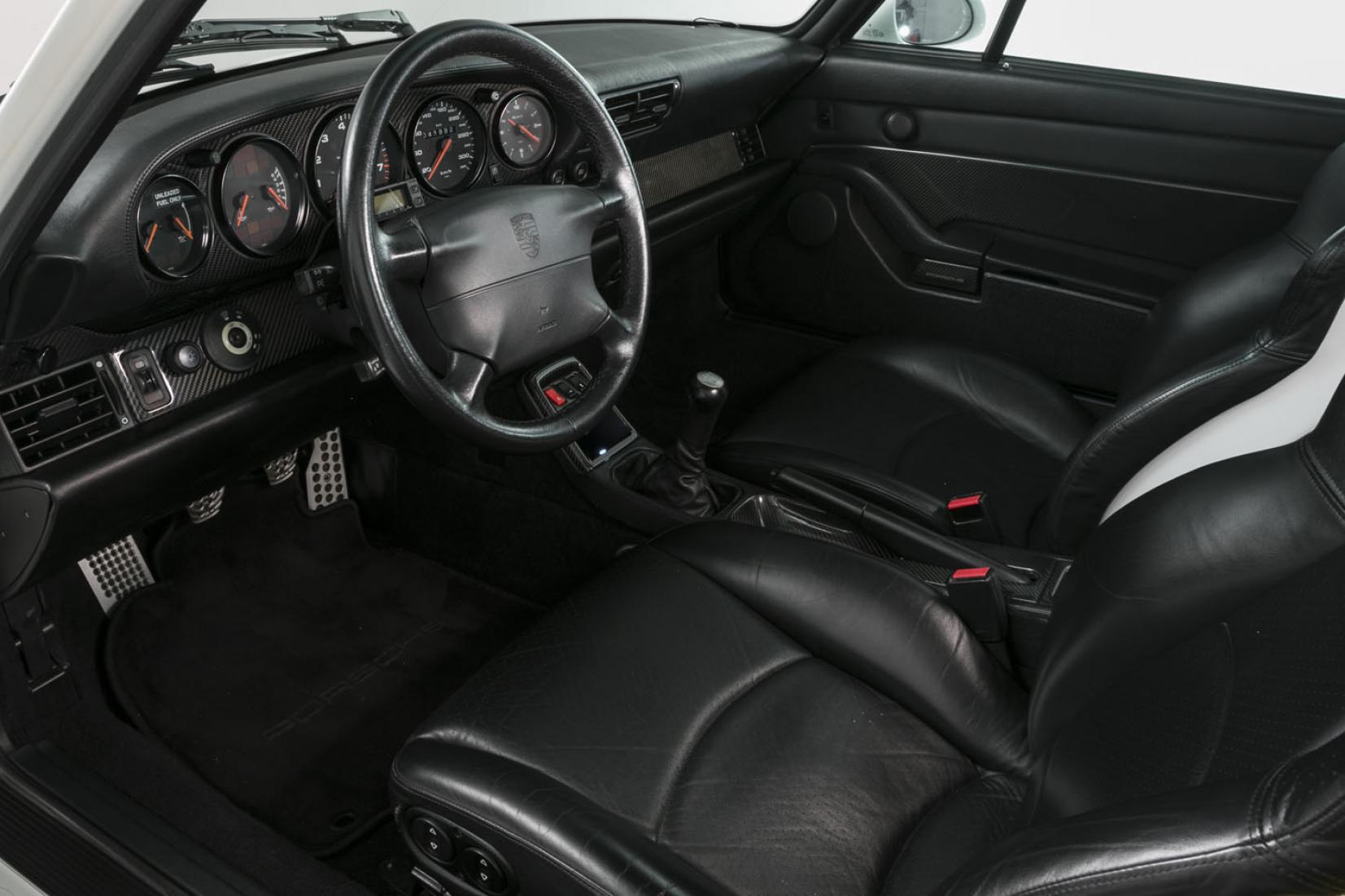 Interieur Porsche 911 Turbo 993 1995