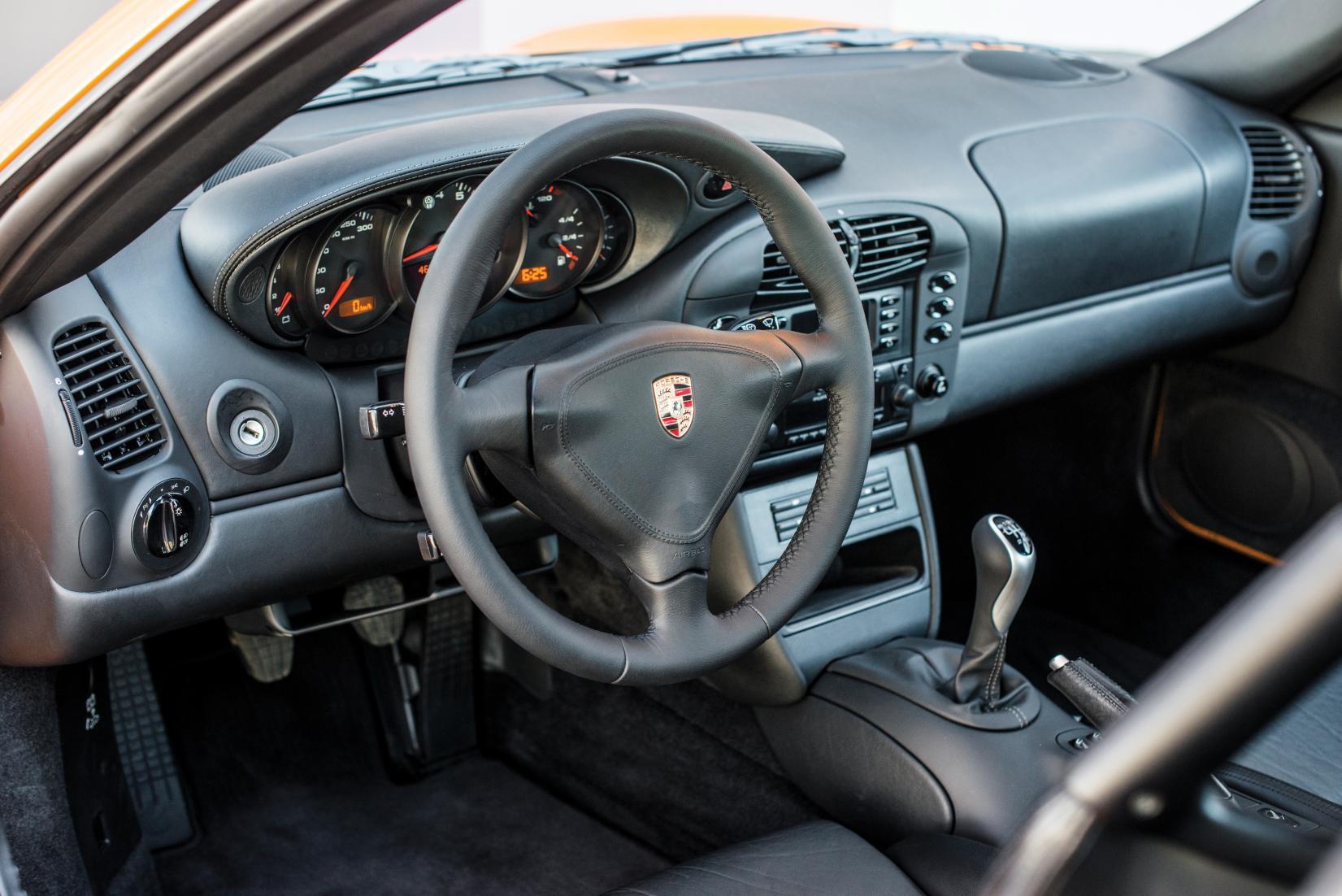 Interieur Porsche 911 Turbo 996 2001