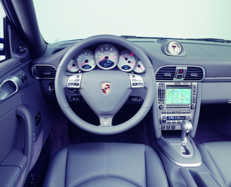 Interieur Porsche 911 Turbo 997 2006