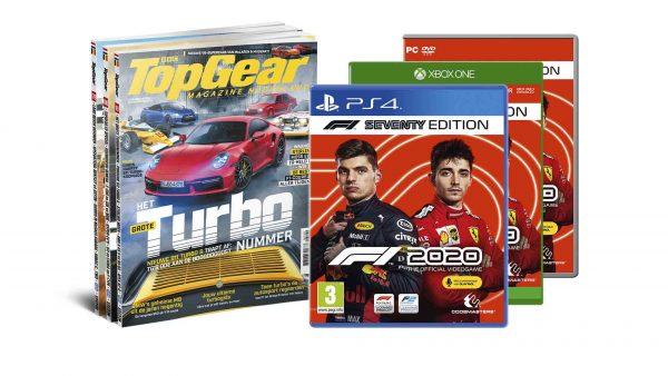 Halfjaarabonnement TopGear met F1 2020