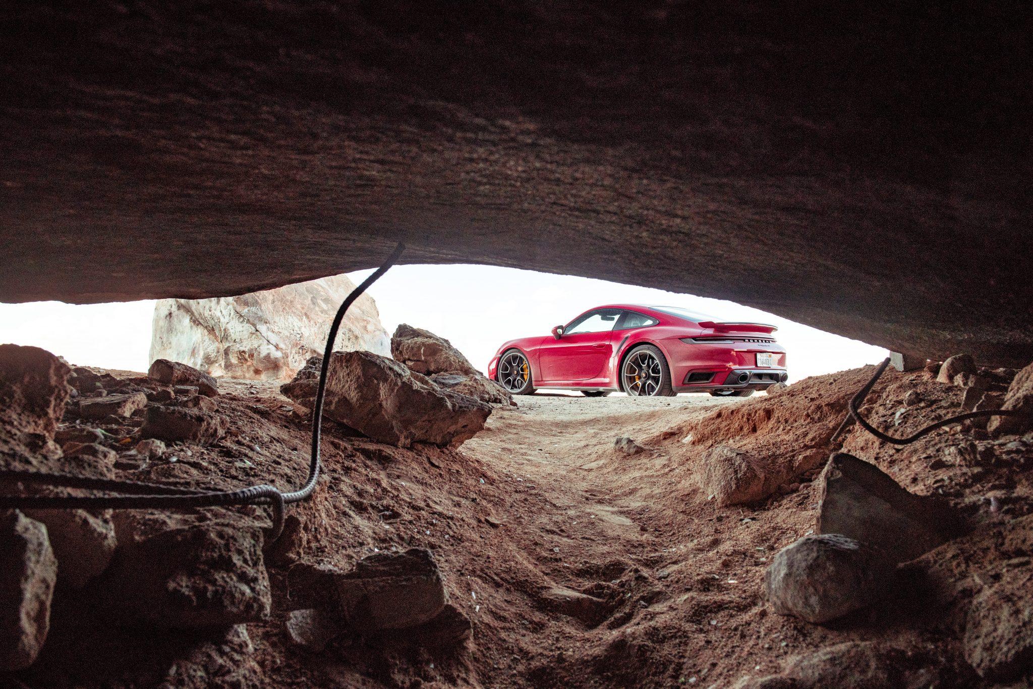 Grot en Porsche 911 Turbo S