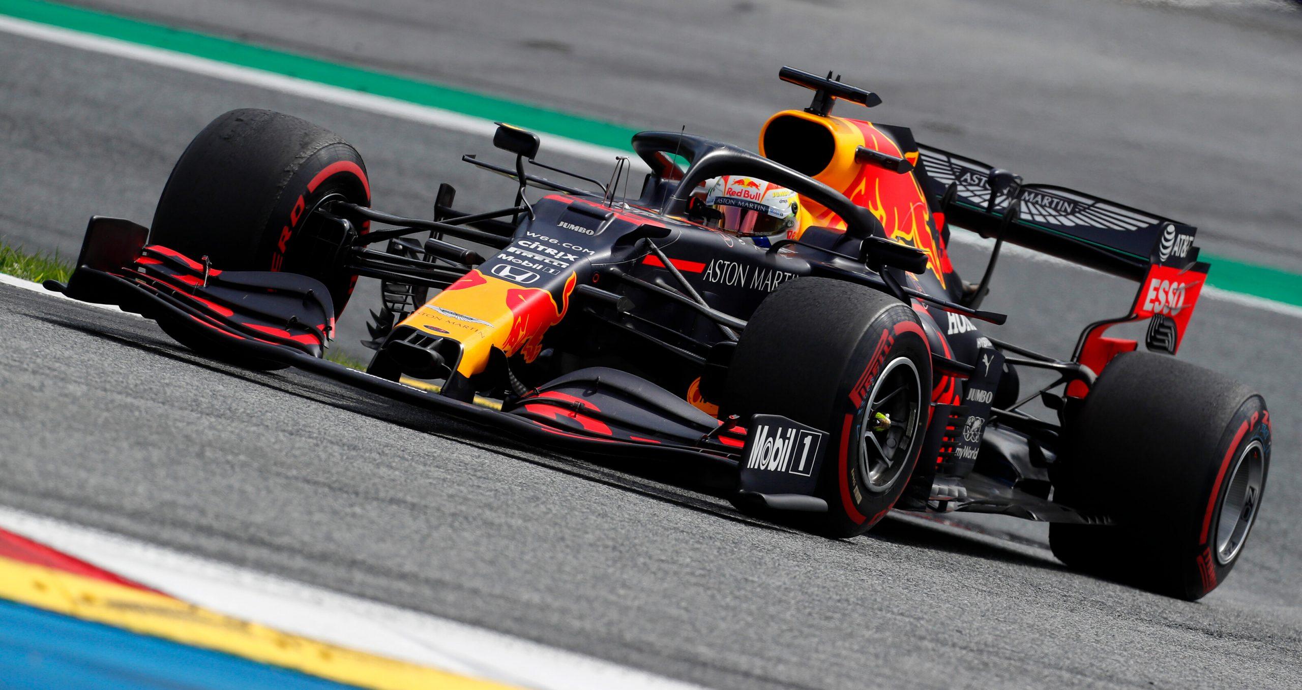 1e vrije training van de GP van Hongarije 2020