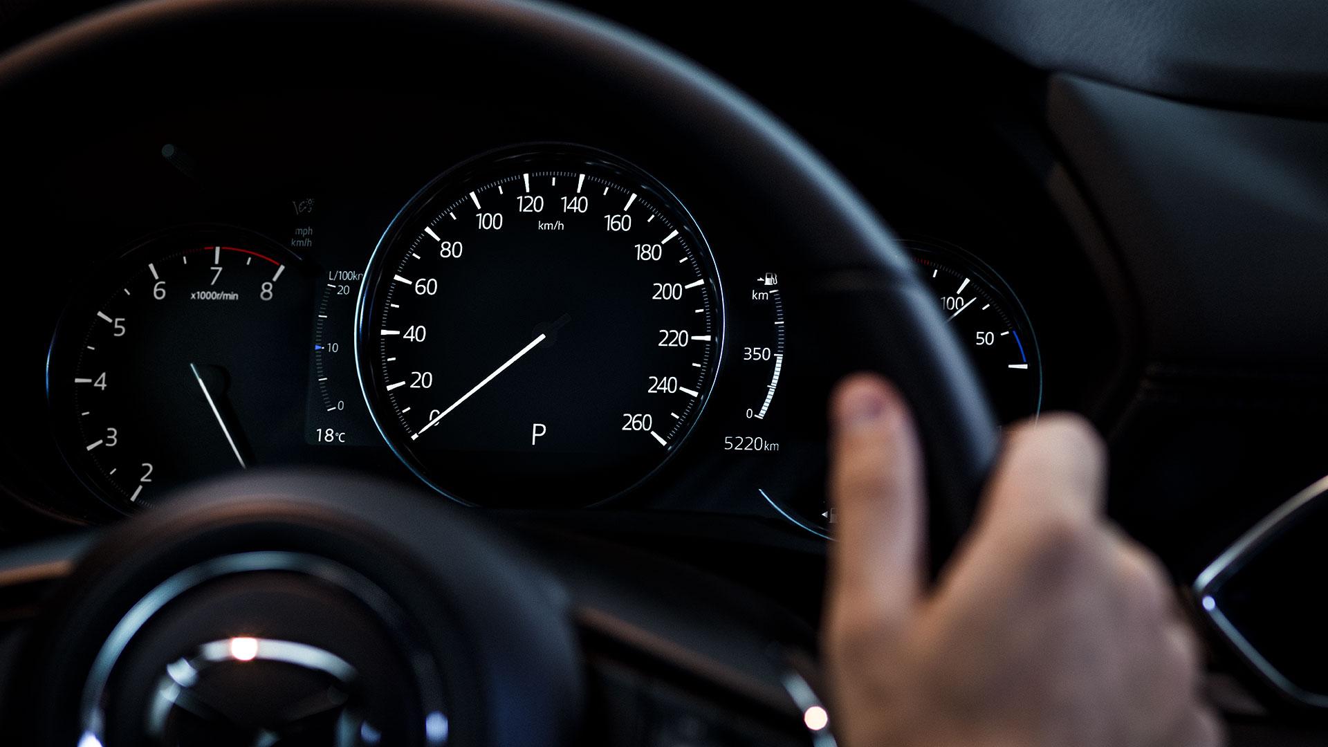 Mazda CX-5 2020: tellers