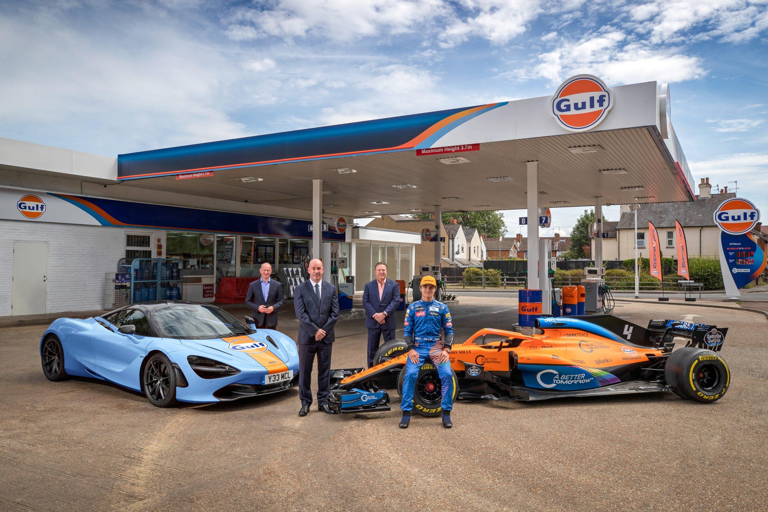 McLaren en Gulf