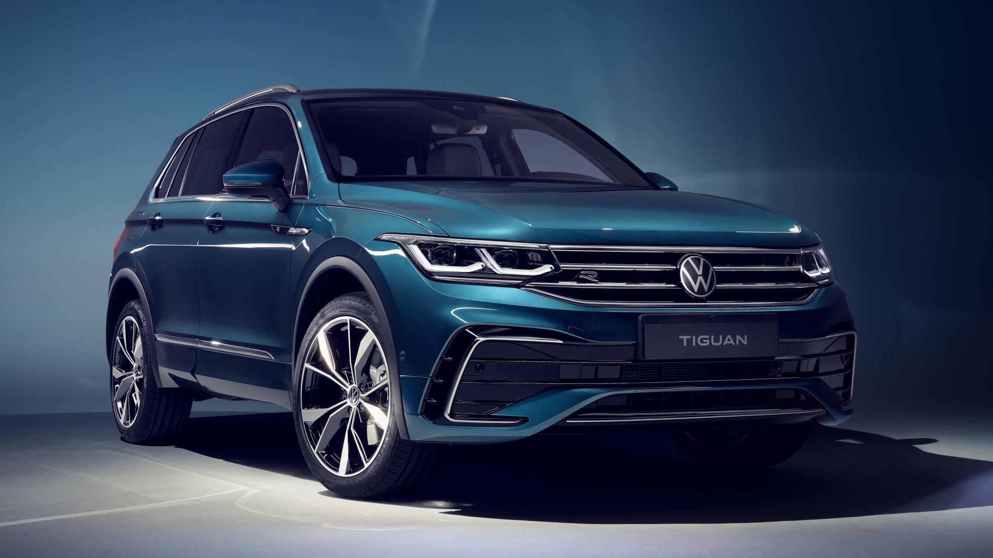 Volkswagen Tiguan-facelift 2020
