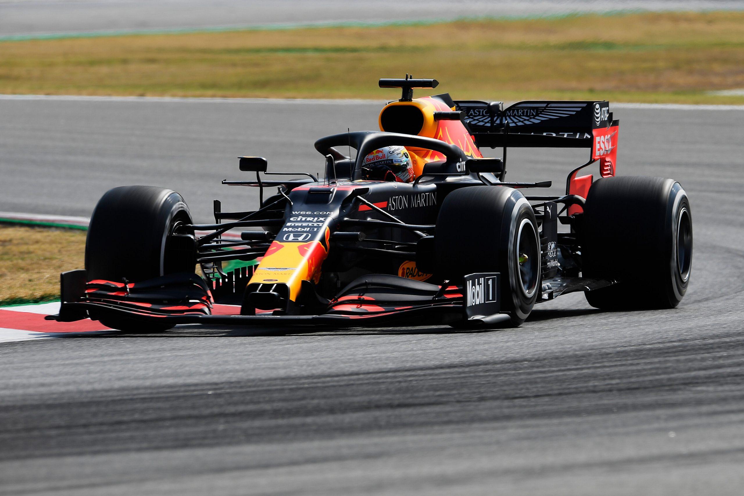 1e vrije training van de GP van Spanje 2020