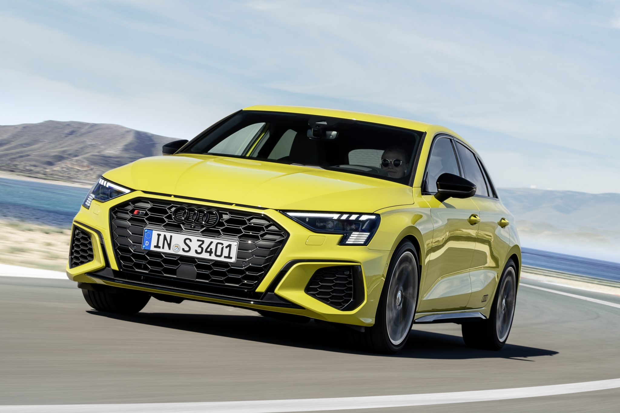Audi S3 Sportback Geel