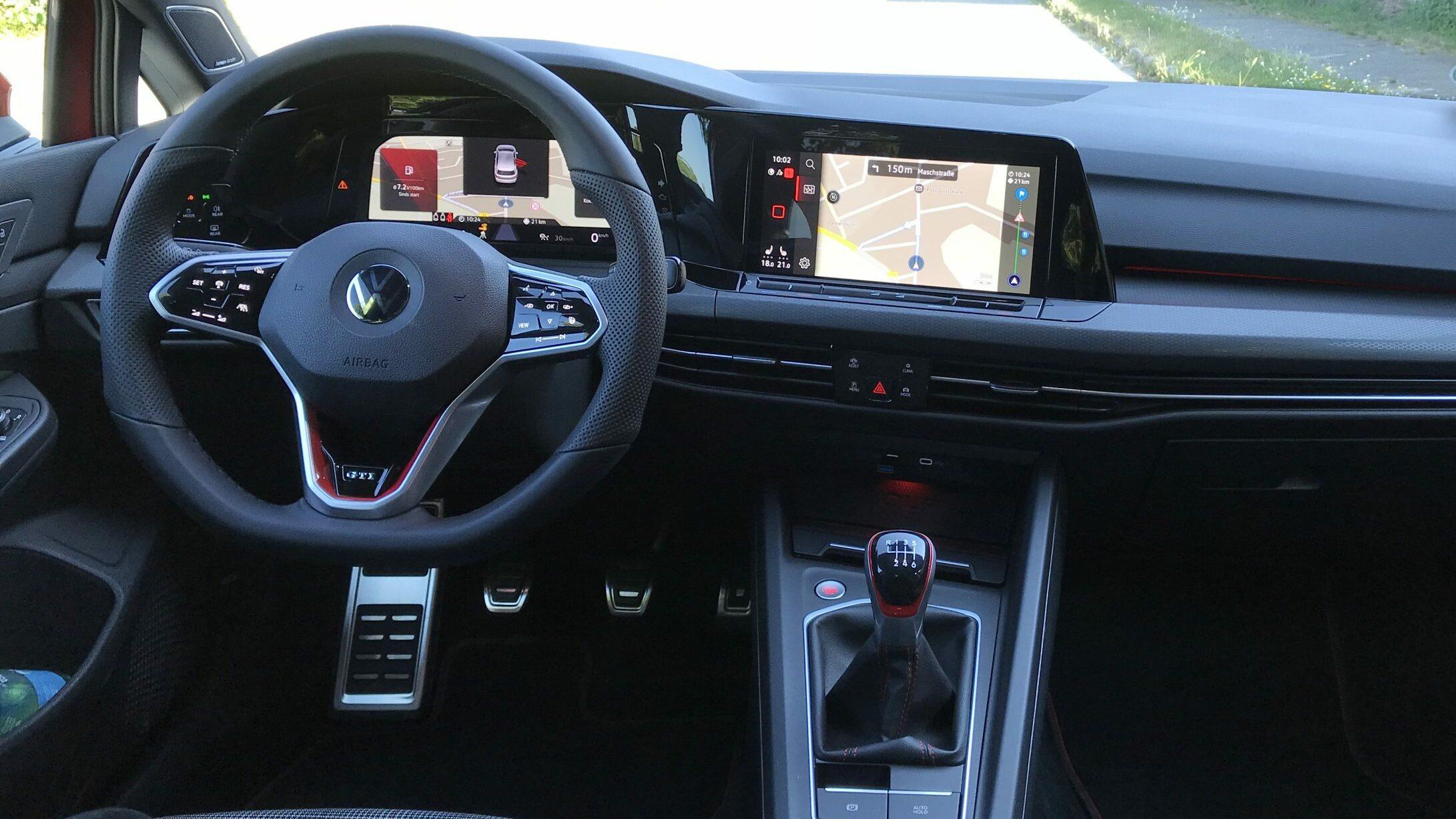 Interieur Volkswagen Golf 8 GTI 2020