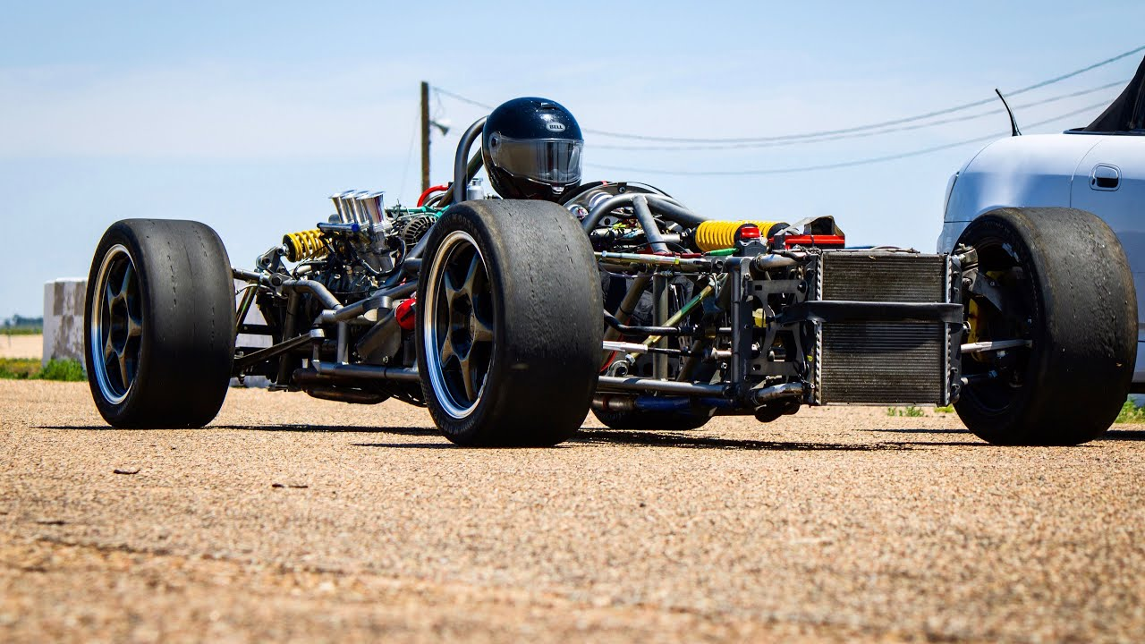 Man bouwt Porsche Boxster om tot F1-auto