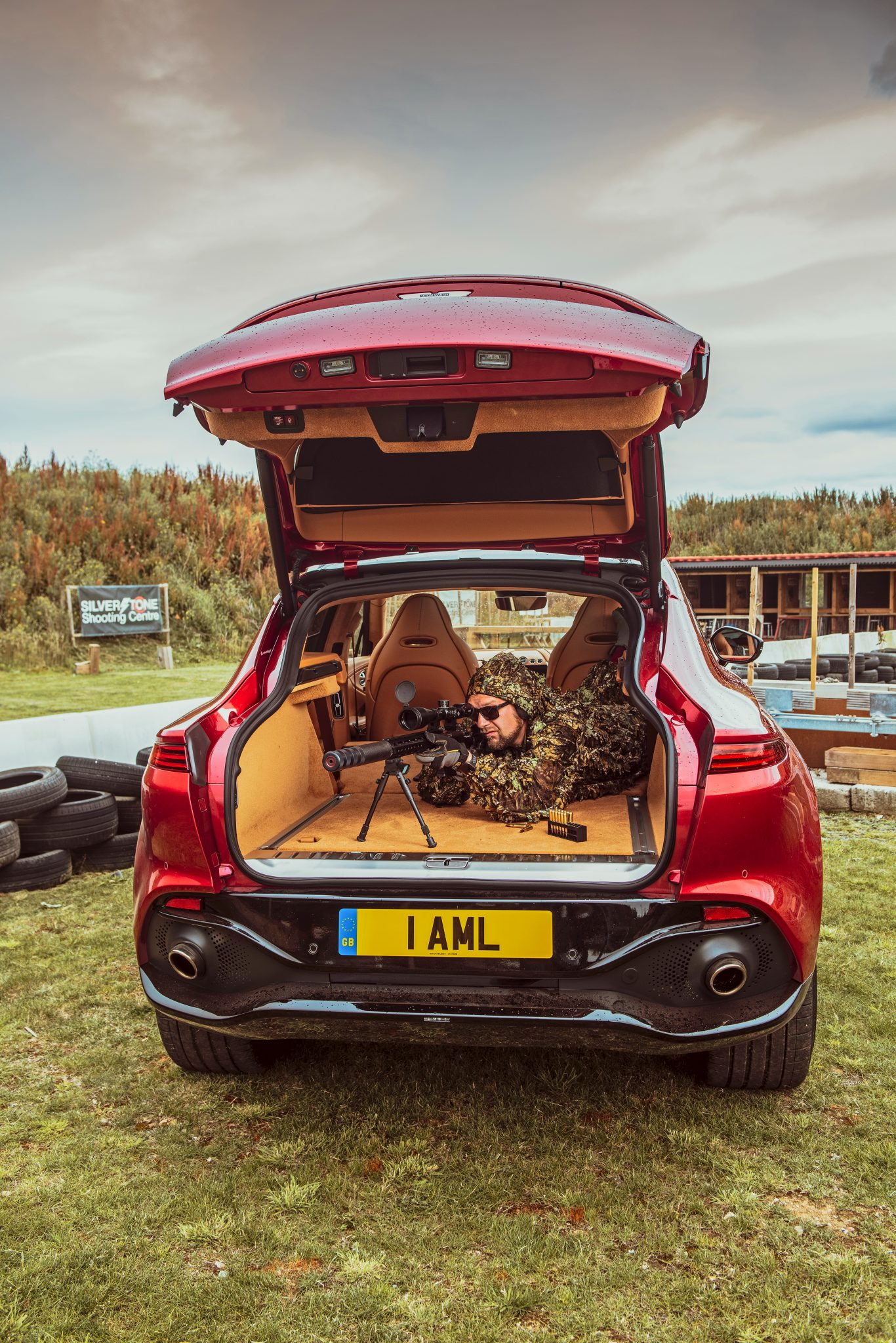 Achterbak of kofferruimte Aston Martin DBX 2020