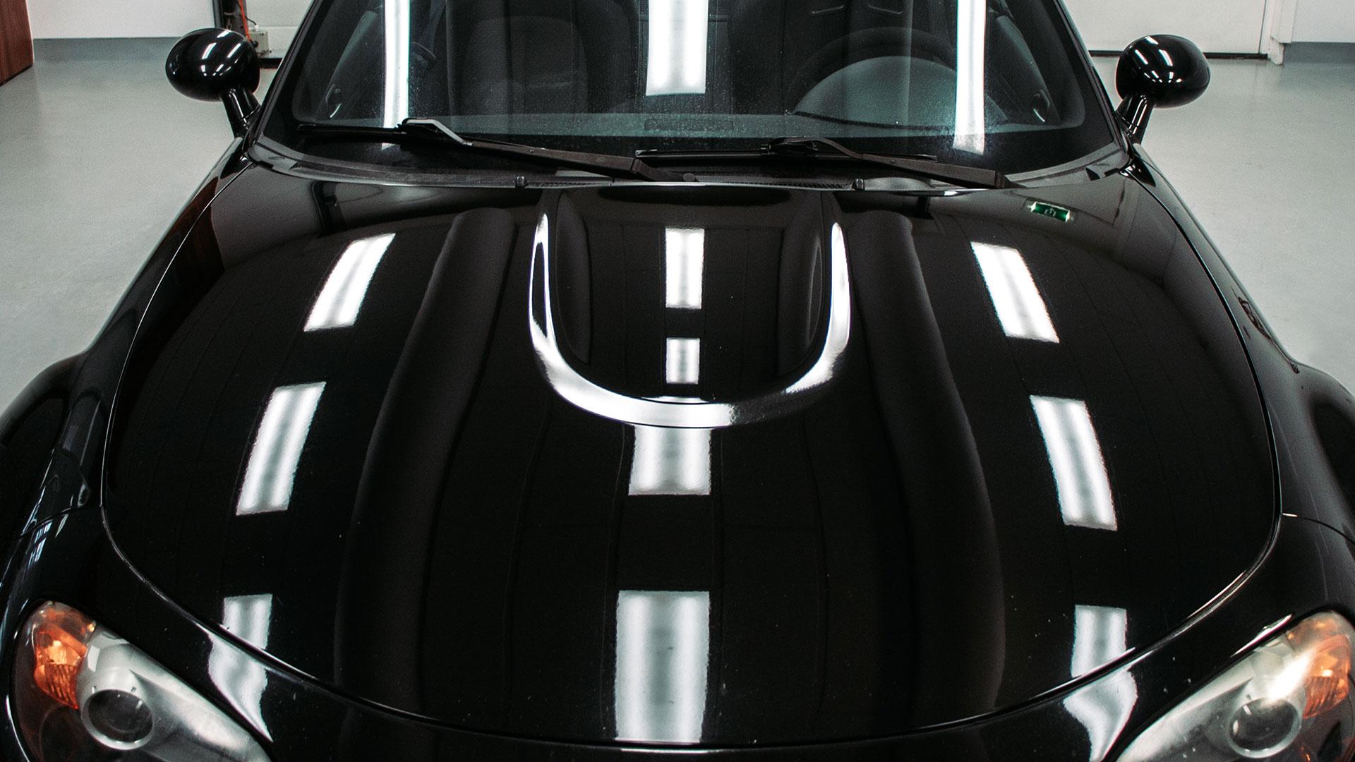 Gepolijste motorkap Mazda MX-5 NC omgekeerde powerdome
