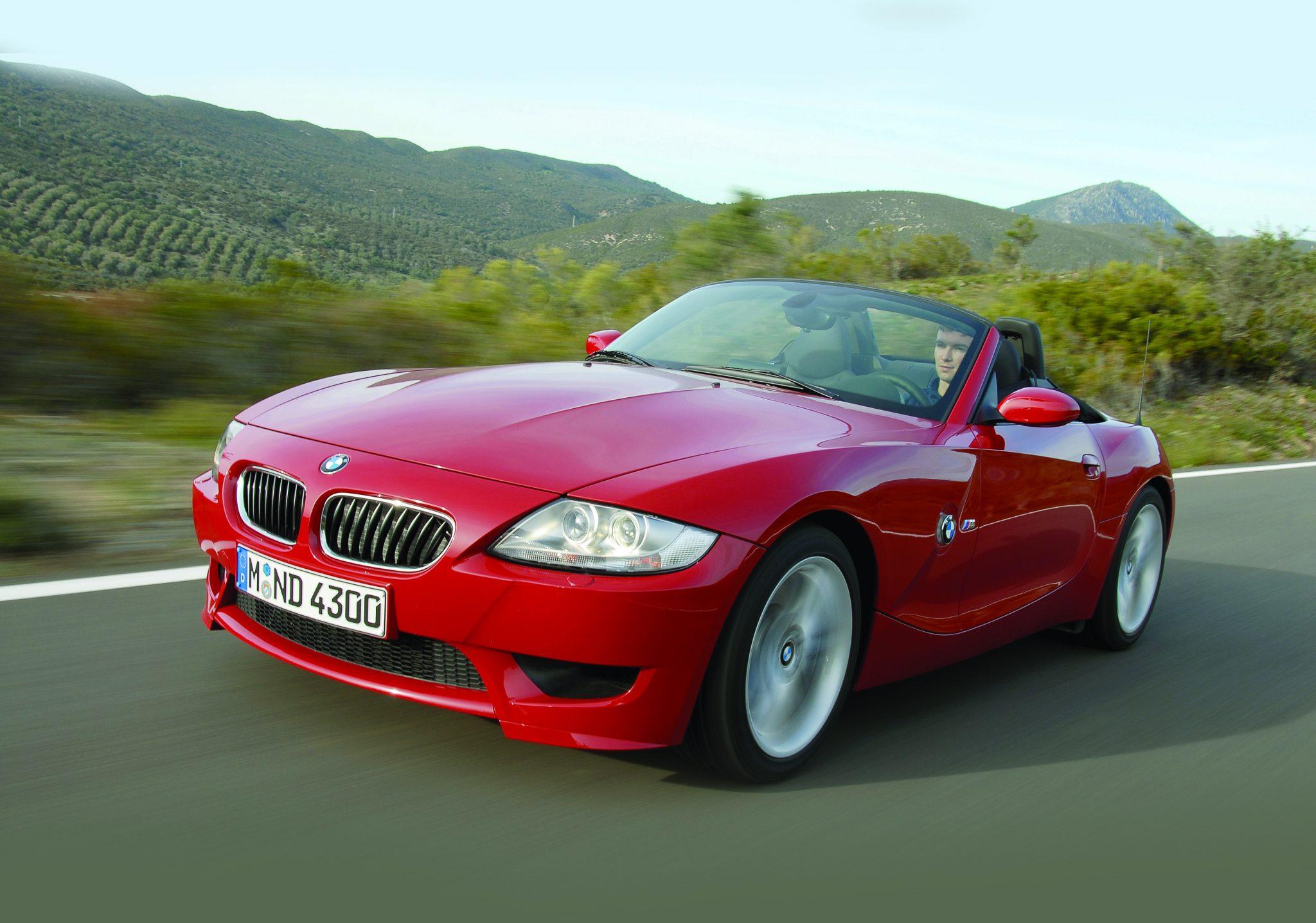 BMW Z4 (rood)