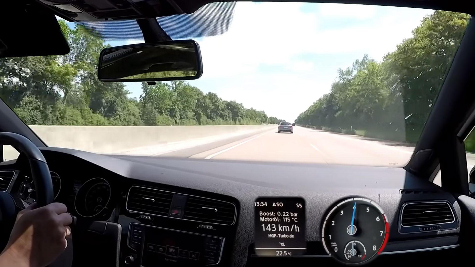 HGP Golf 7 vs Audi RS6