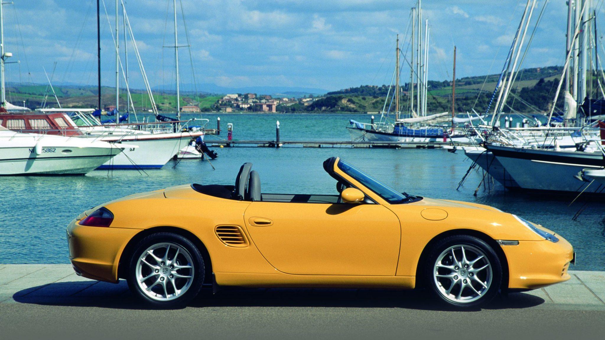 Porsche Boxster (Yellow)