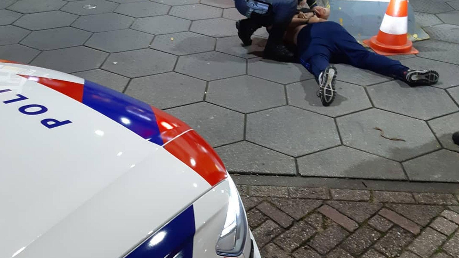 Aanhouding politie