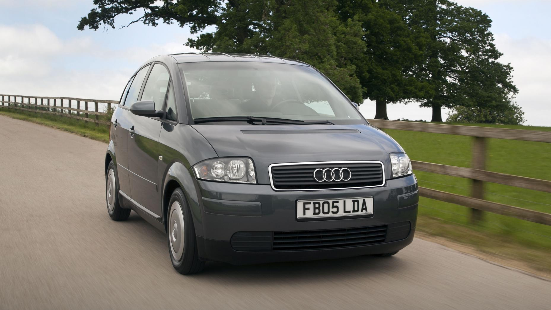 Audi A2 Grijs