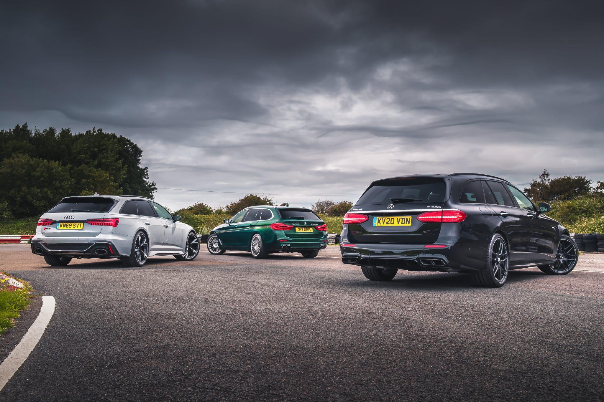 Alpina B5 Touring vs Audi RS 6 Avant vs Mercedes-AMG E 63 S Estate