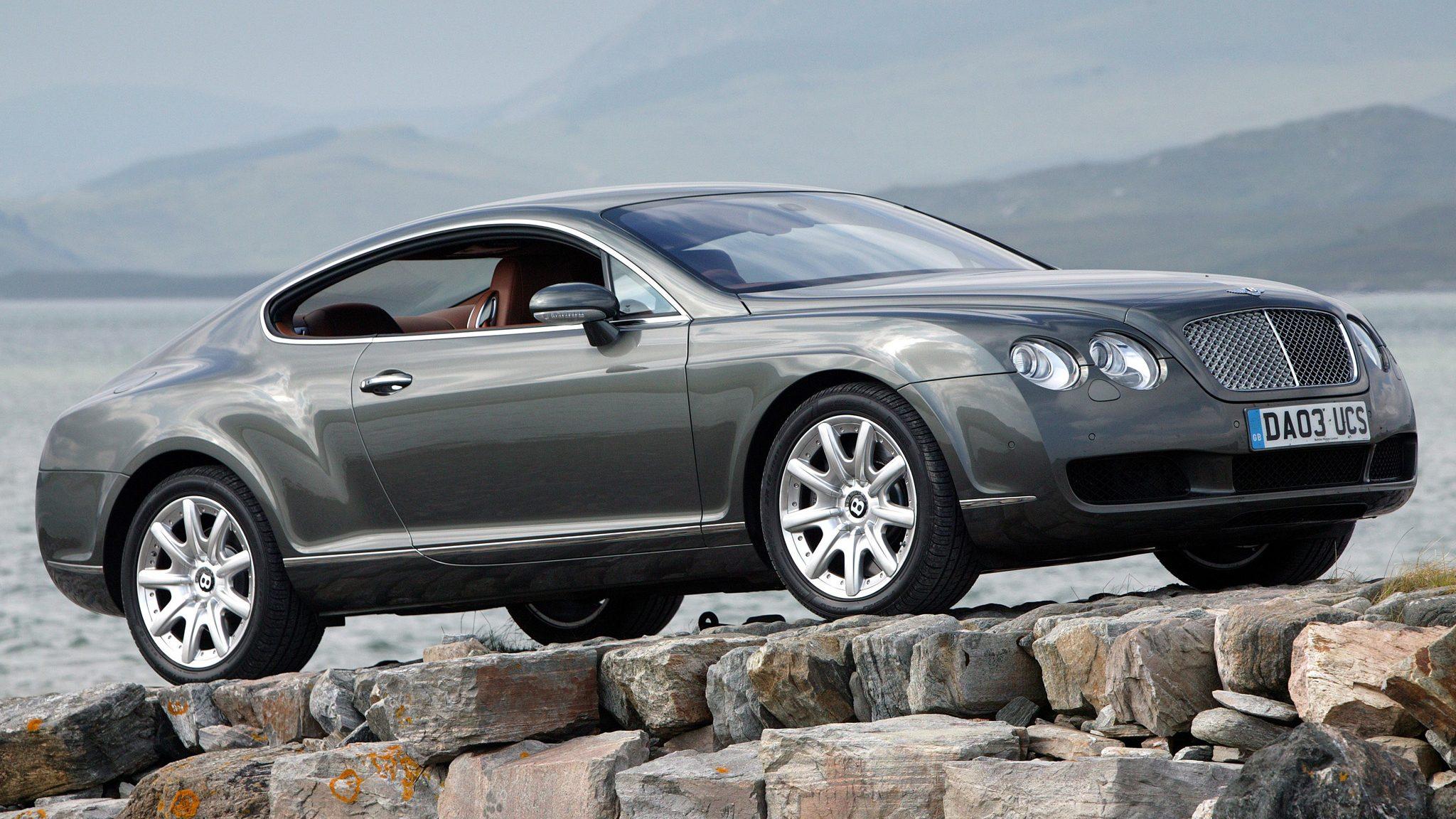 Bentley Continental GT uit 2003