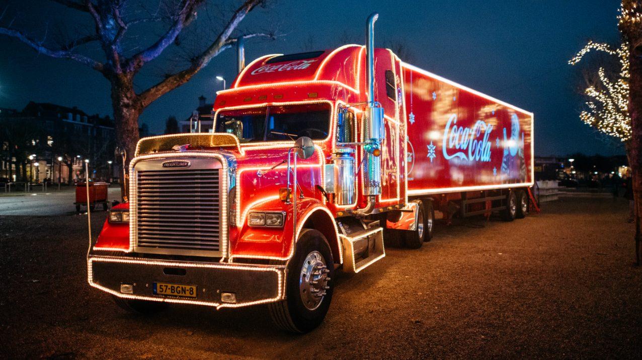 Coca Cola Vrachtwagen in Nederland