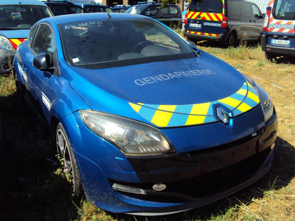 Renault Megane RS van Franse politie