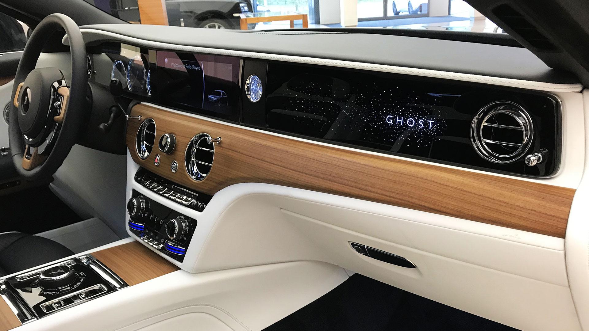 Rolls-Royce Ghost 2020 interieur hout