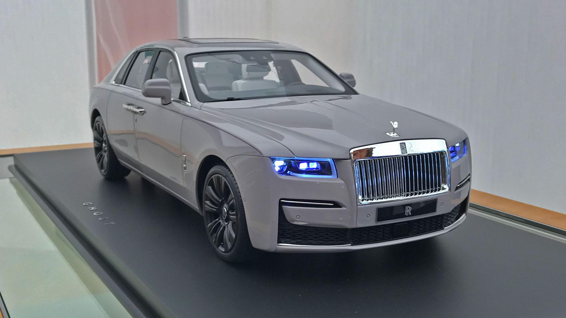 Schaalmodel Rolls-Royce Ghost