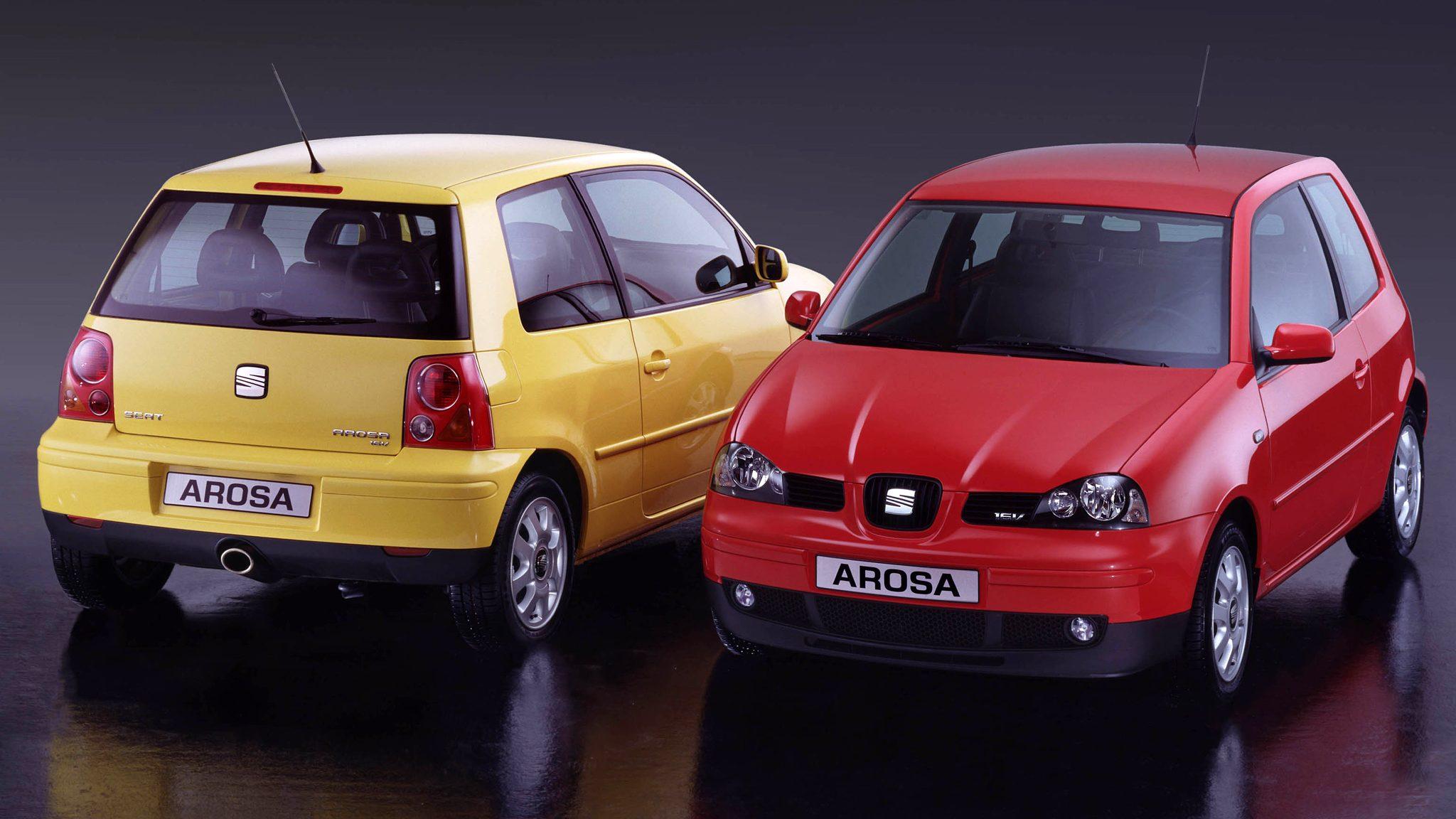 Seat Arosa 16V met 100 pk
