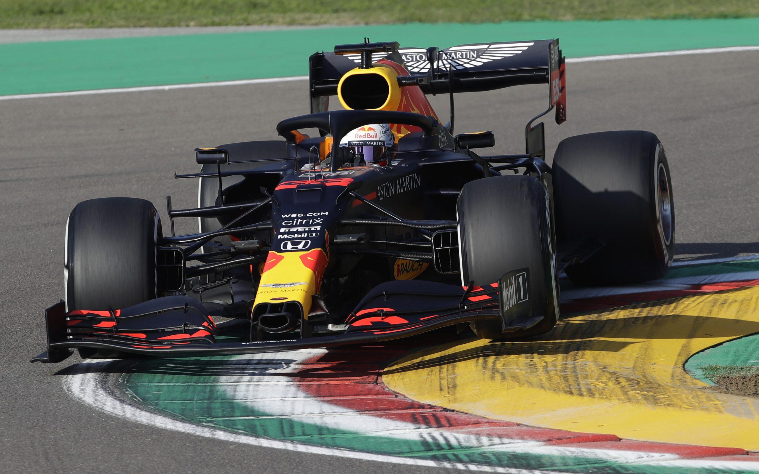 Vrije training van de GP van Emilia-Romagna 2020