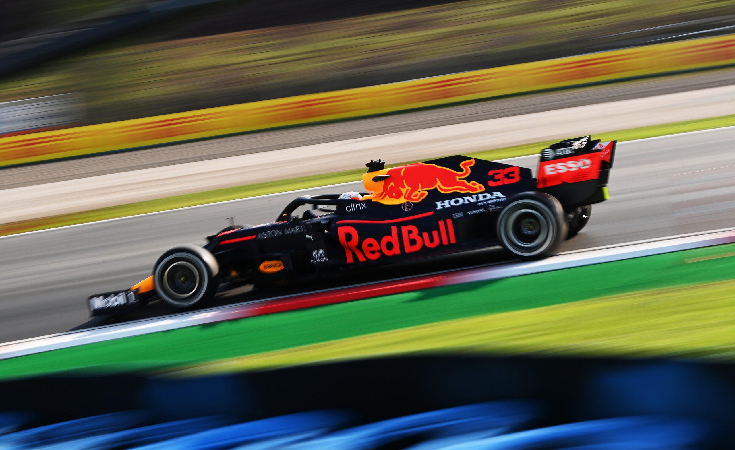 1e vrije training van de GP van Turkije 2020