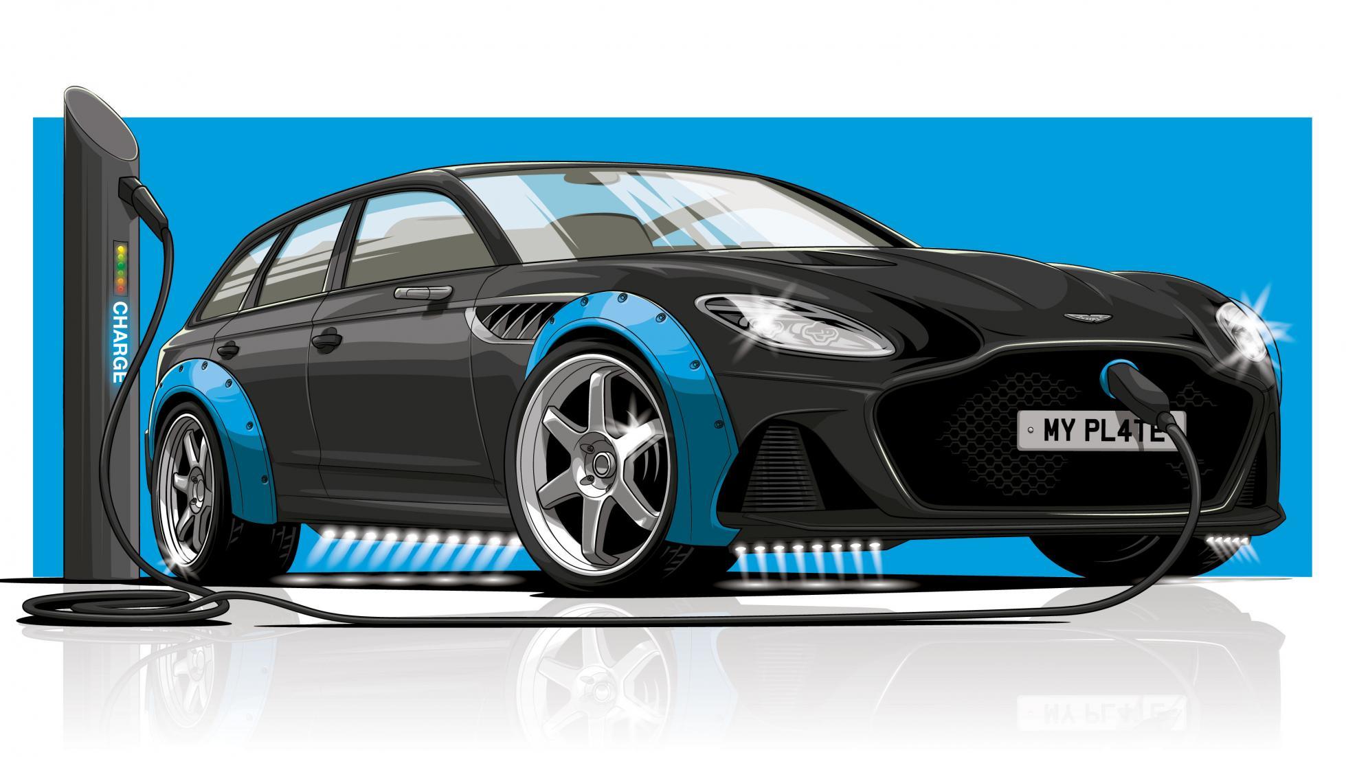 Aston Martin RS 6 plug-in hybride