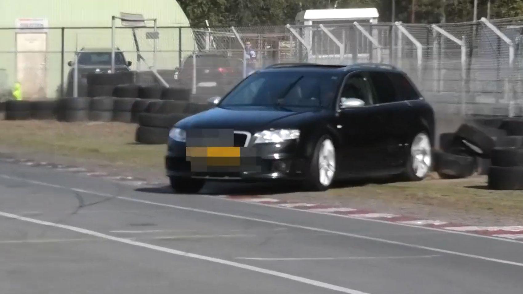 Audi RS 4 bandenstapel