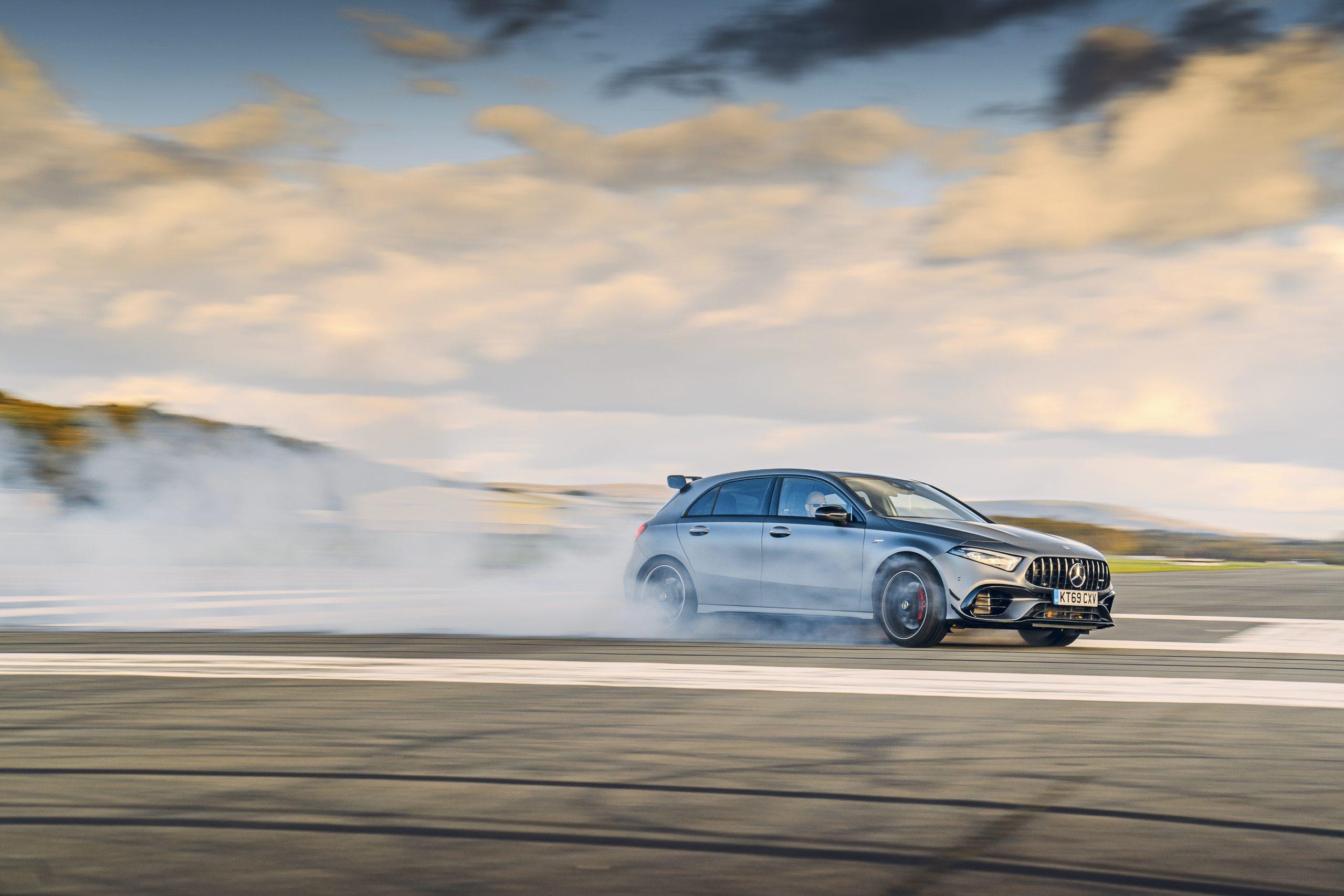 Mercedes-AMG A 45 S drift