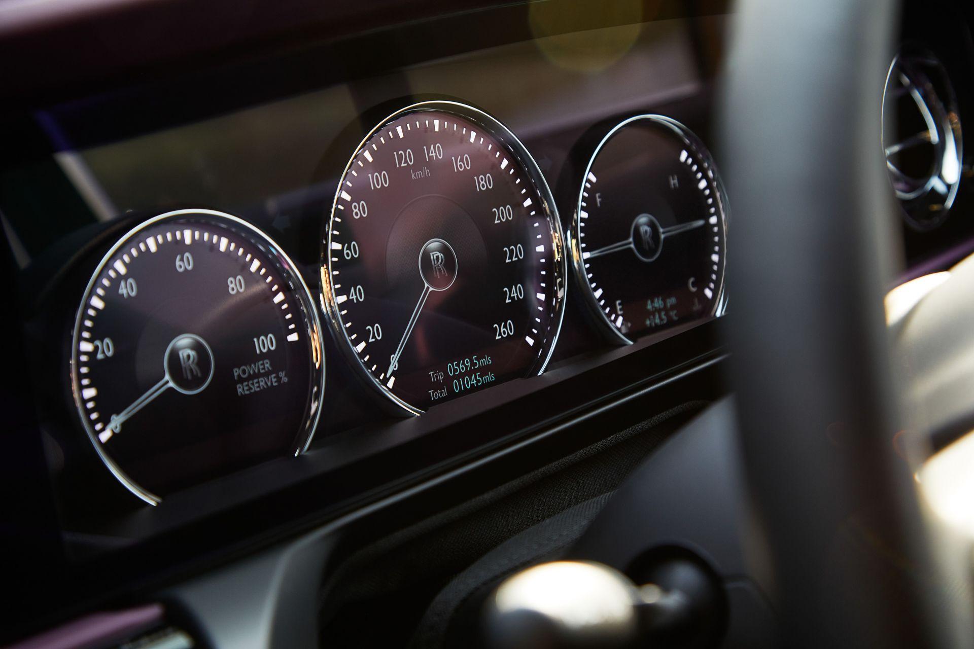 Interieur en tellers Rolls-Royce Ghost