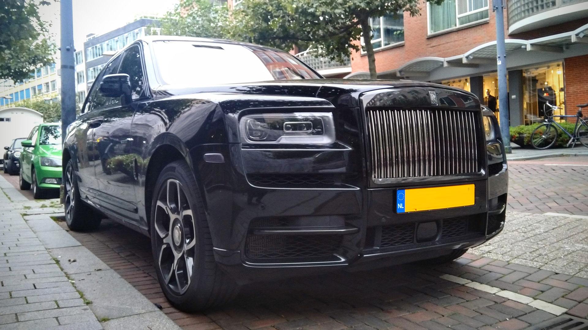 Rolls-Royce Cullinan Black Badge Nederland