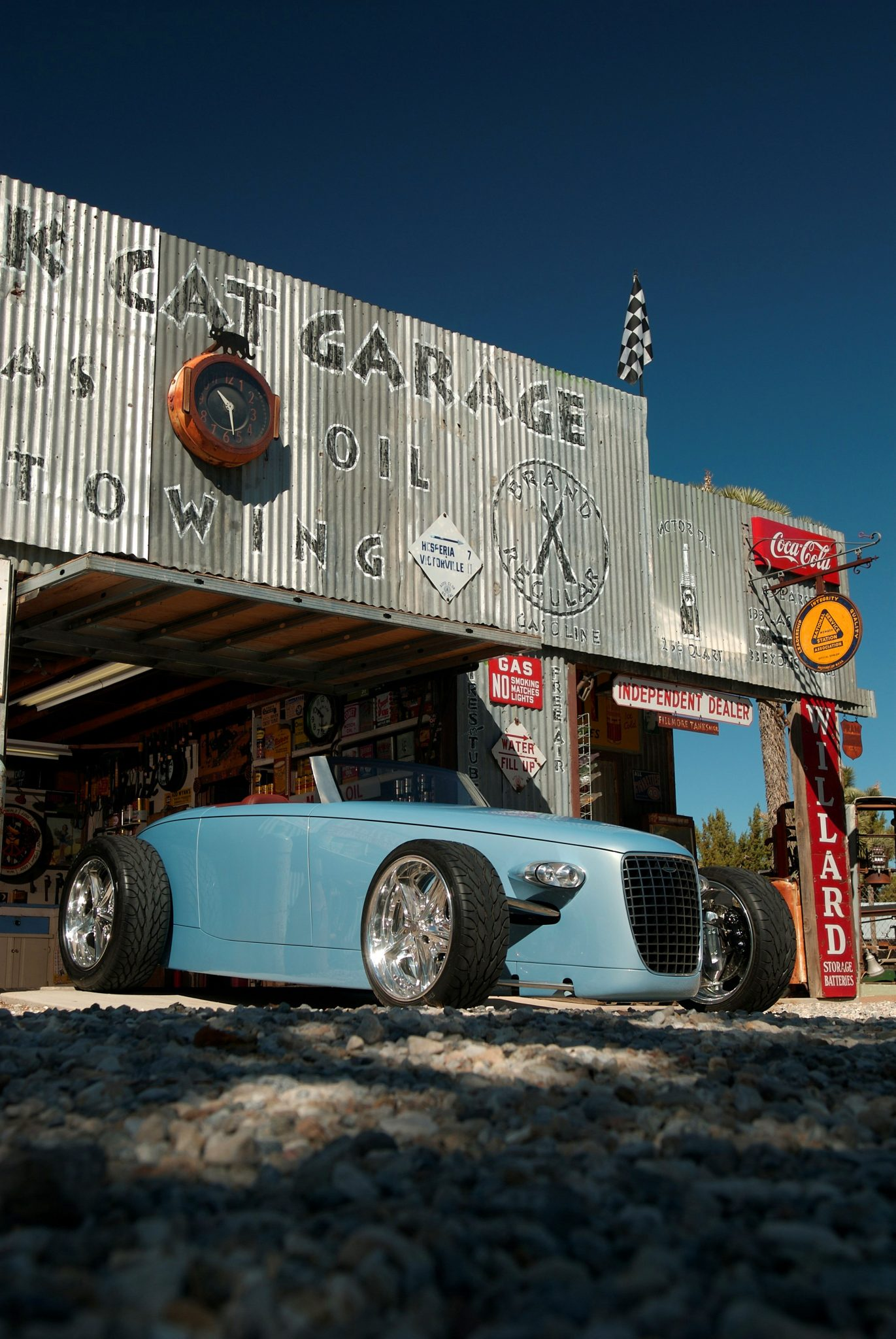 Caresto V8 Speedster Concept