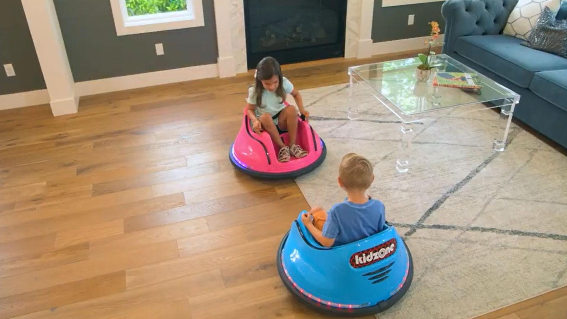 Botsauto's voor kinderen thuis