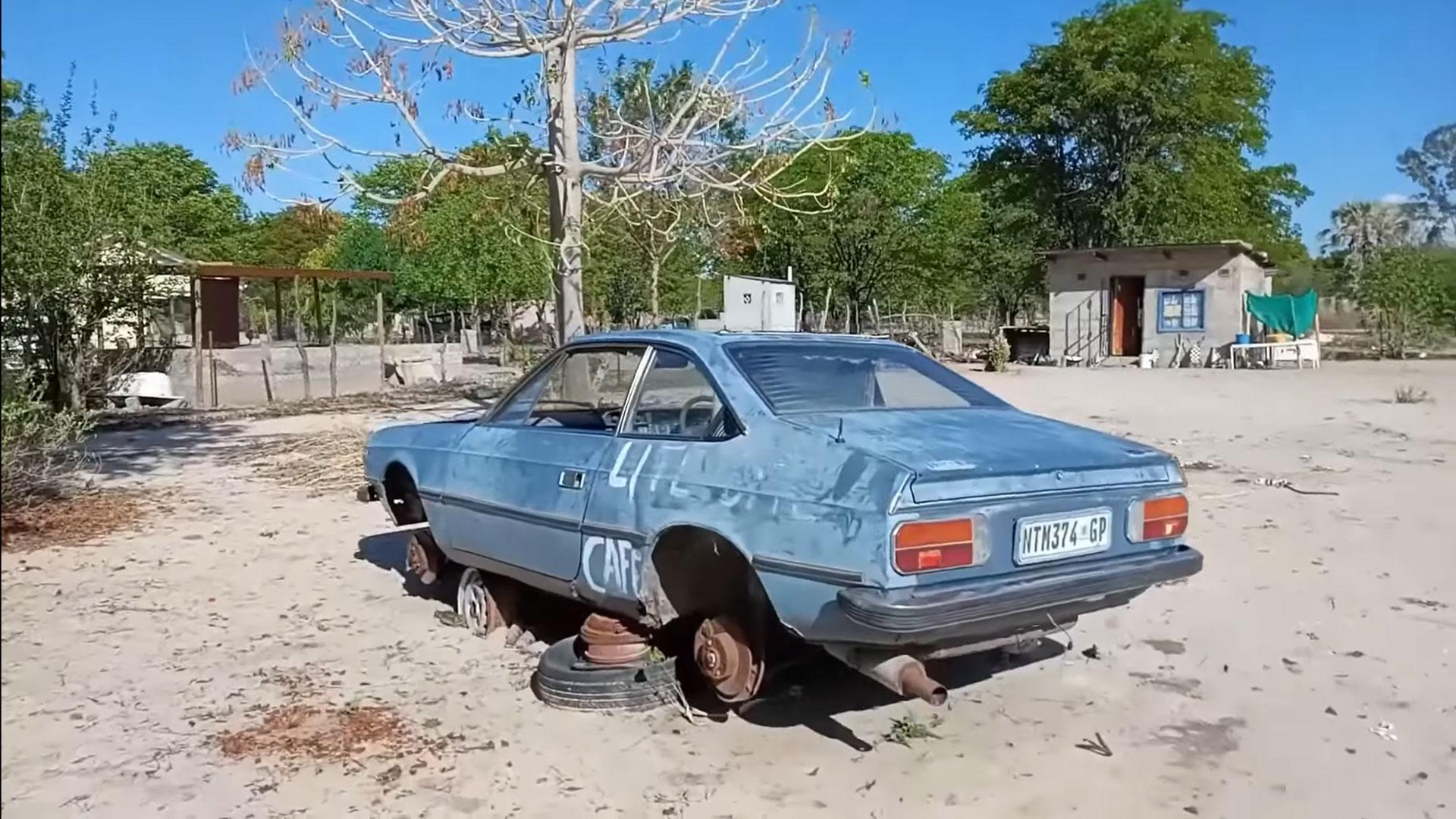 Lancia uit de TopGear Botswana Special is gevonden