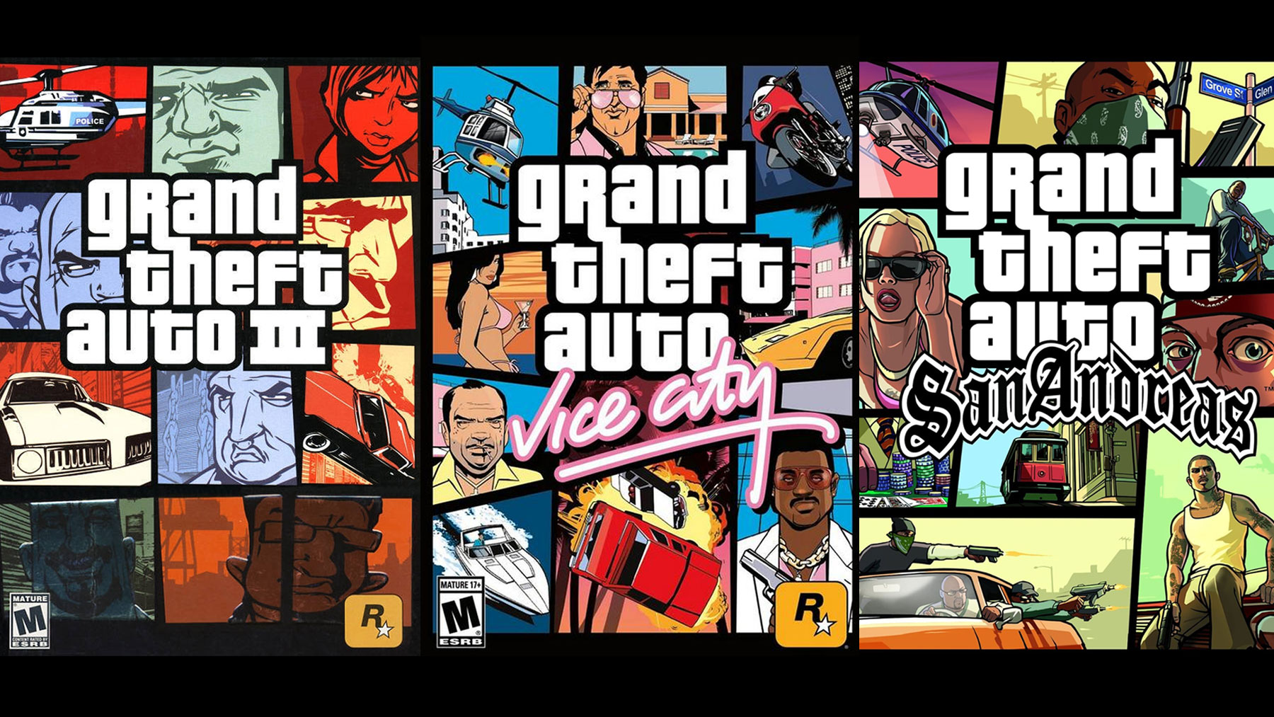 remaster van GTA Vice City en San Andreas?