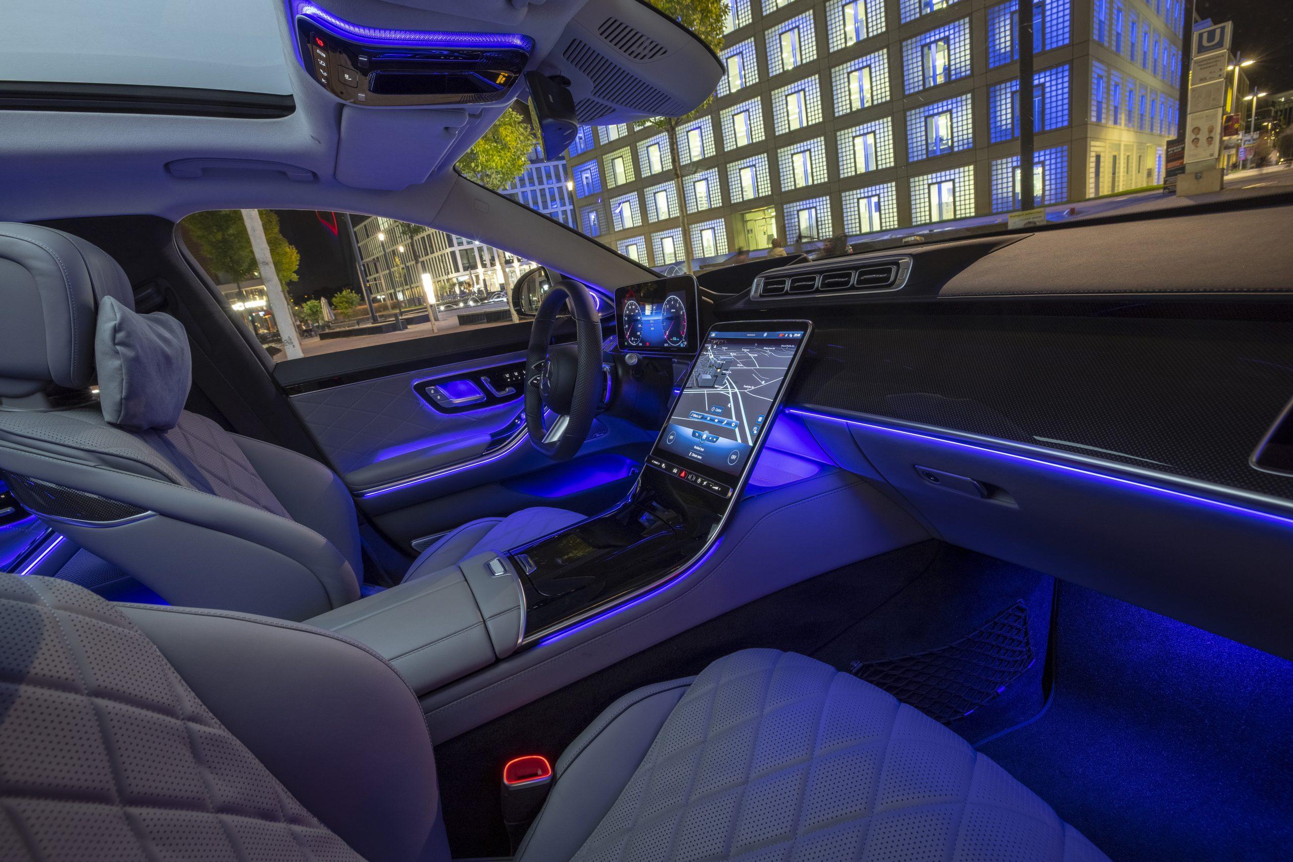Mercedes S-klasse (S 500 4Matic) 2021: 1e rij-indruk