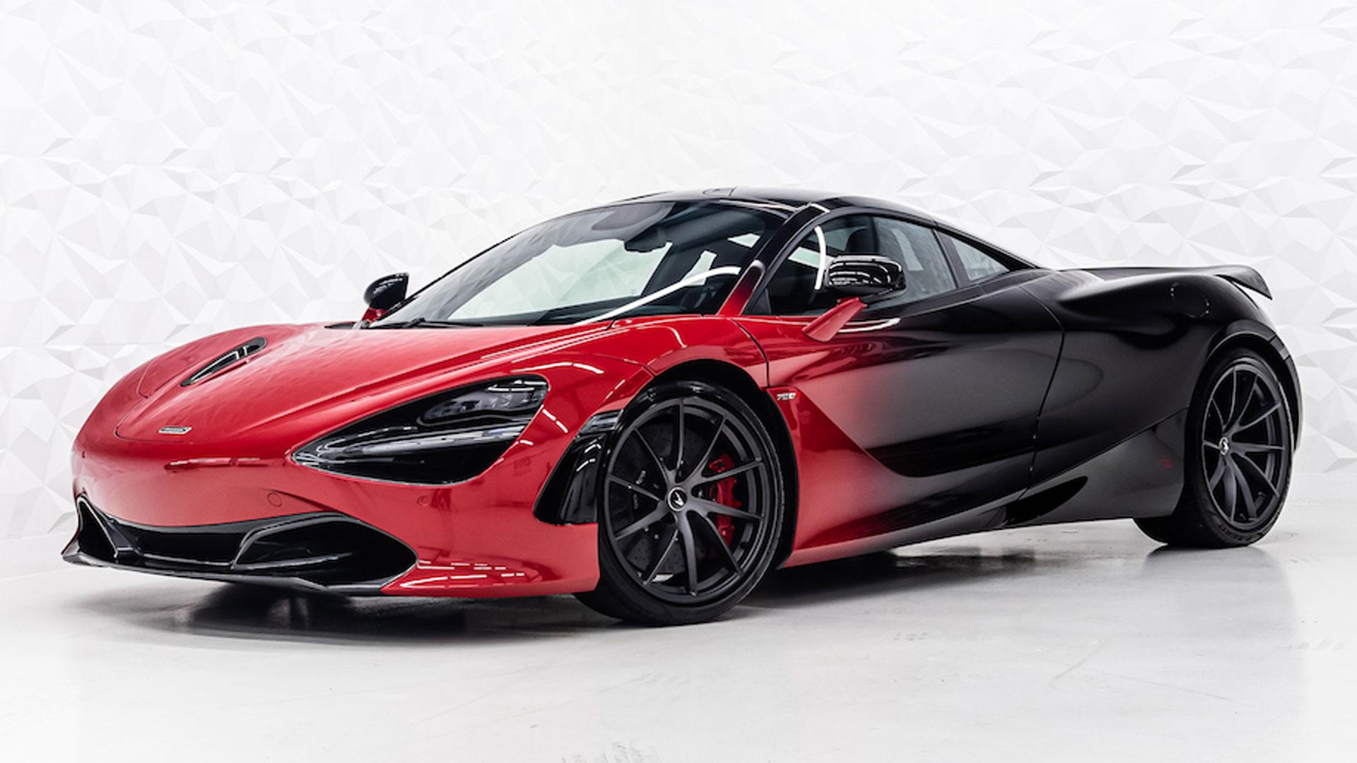 Rico Verhoeven McLaren 720S met wrap