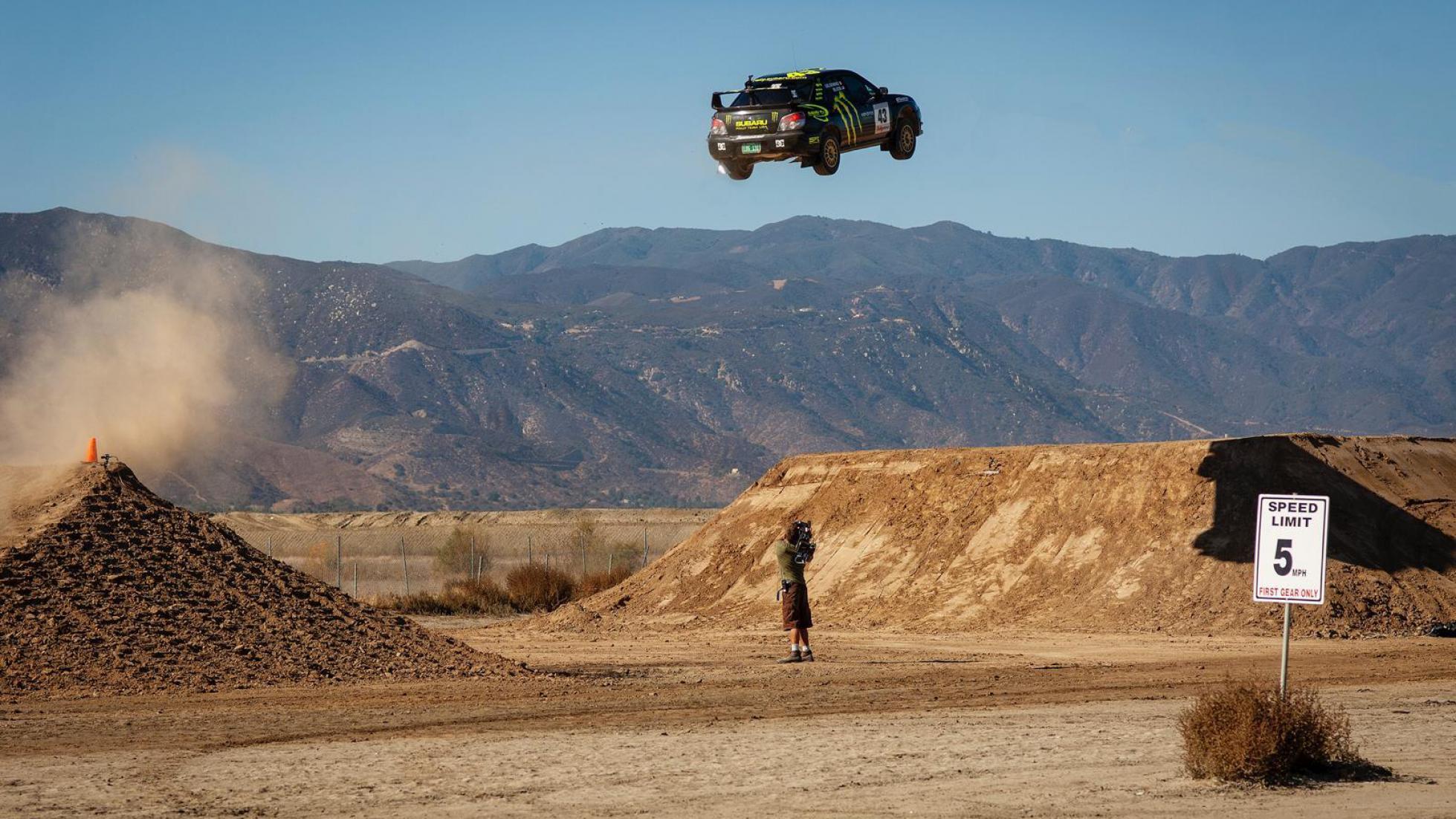 Ken Blocks Subaru WRX STI