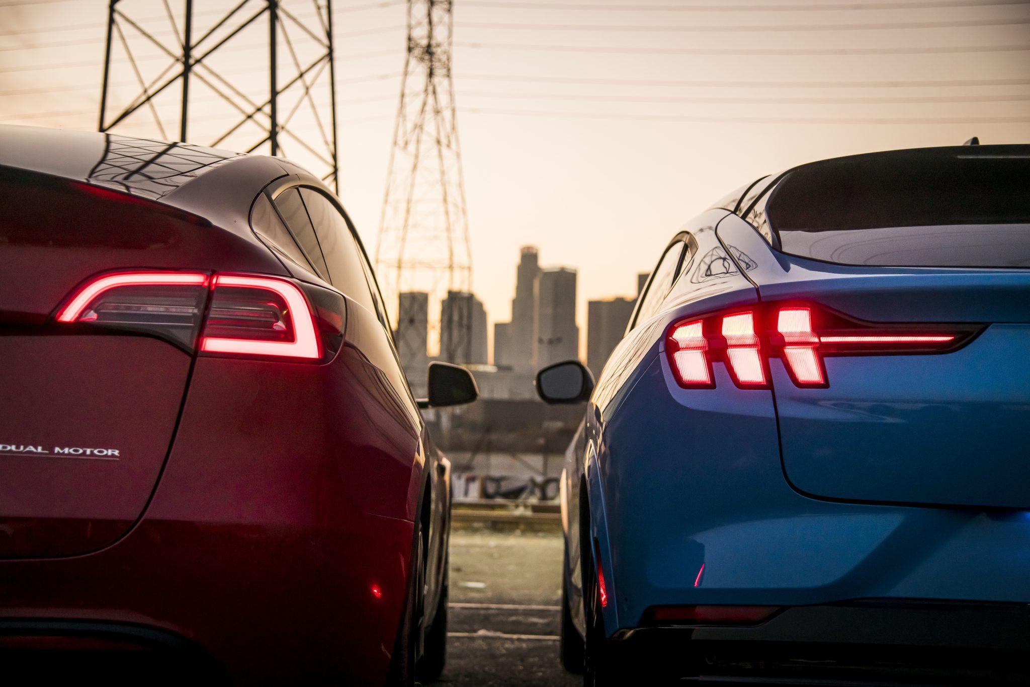 Ford Mustang Mach-E vs Tesla Model Y