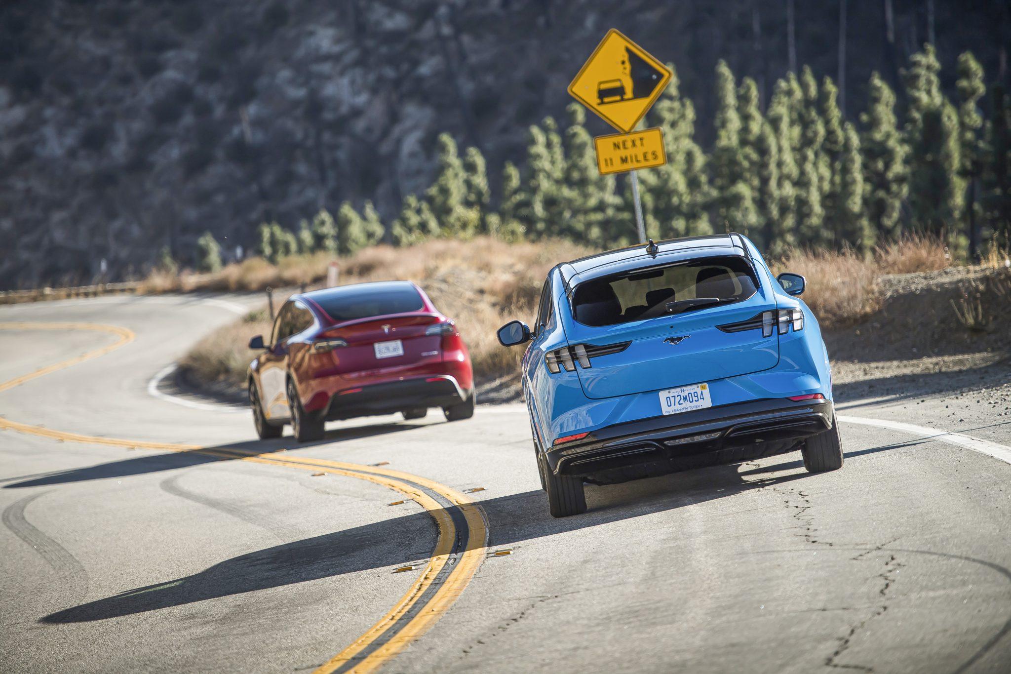 Tesla Model Y vs Ford Mustang Mach E