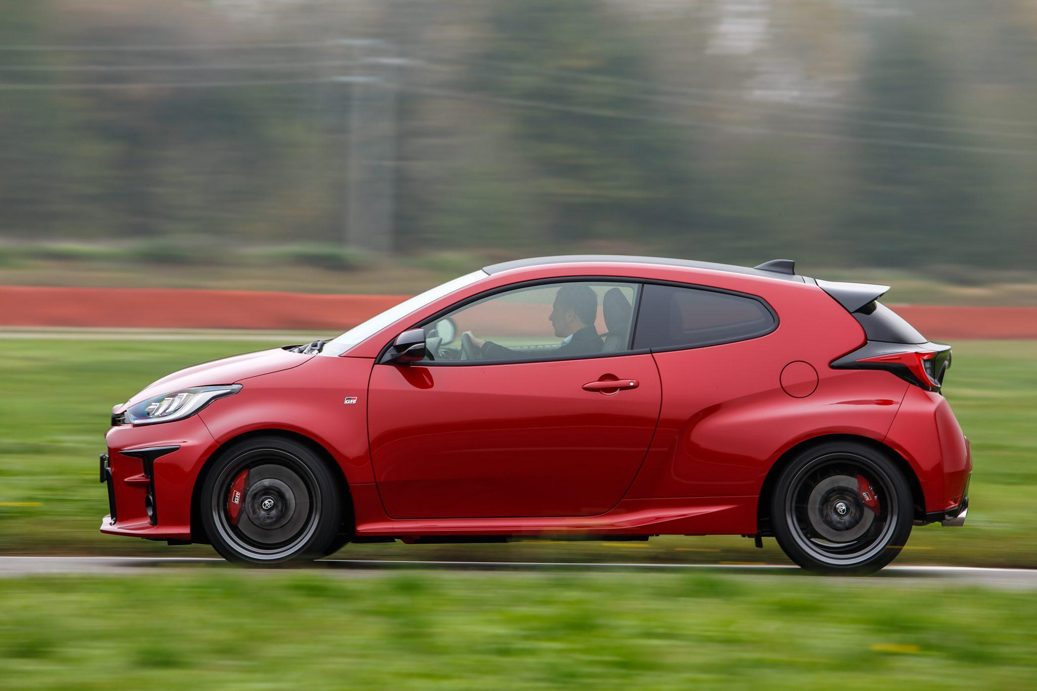 Toyota GR Yaris Performance op het circuit
