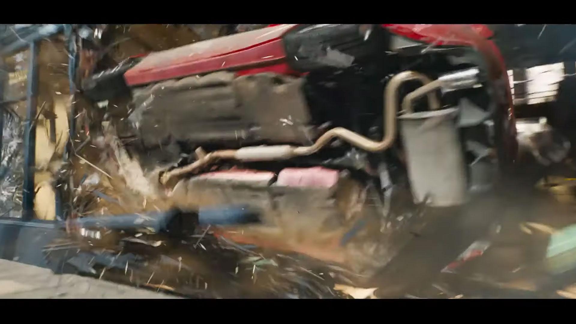 Toyota GT86 door de ruit