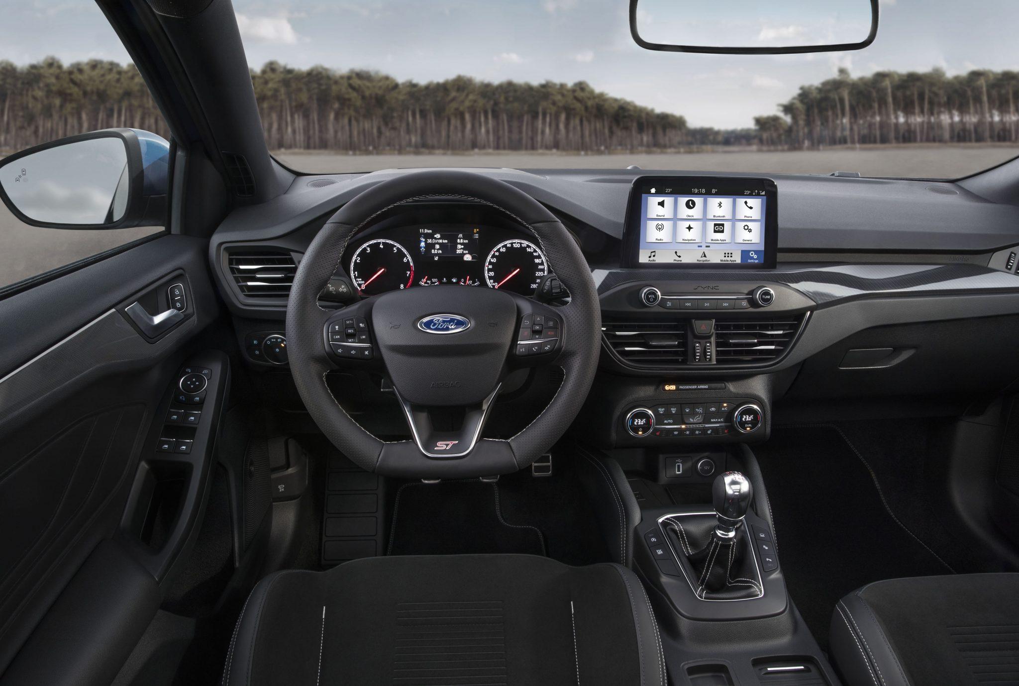 Ford Focus ST interieur